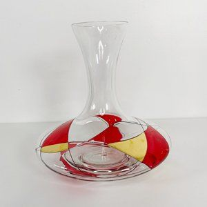 Luminescence Milano Stained Glass Wine Carafe